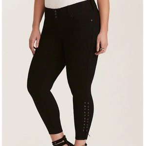 Lace up Jeggings